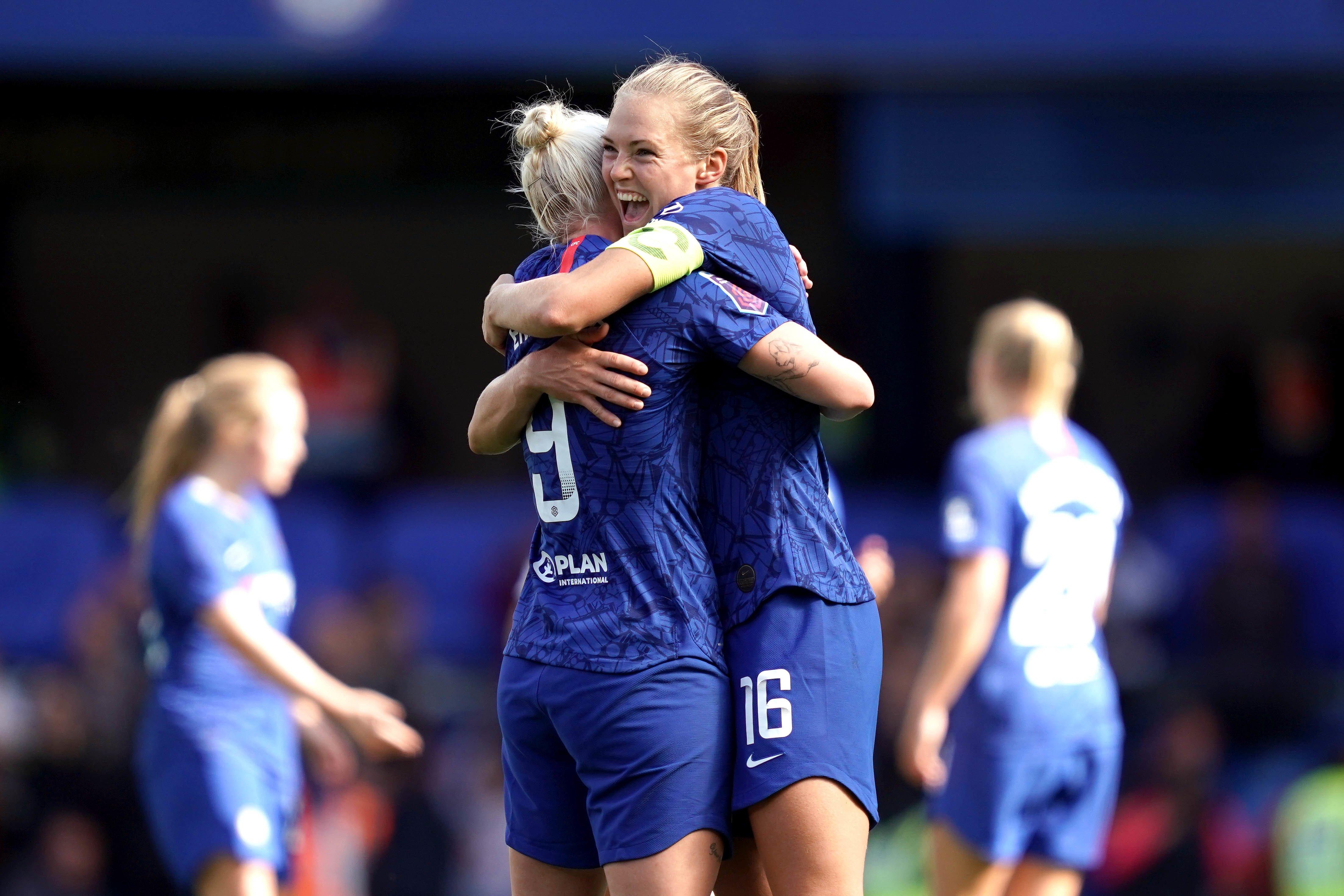 Chelsea pair feeling the Blues