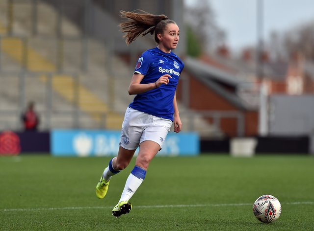 Everton's Megan Finnigan has been named in the squad (PA Images)