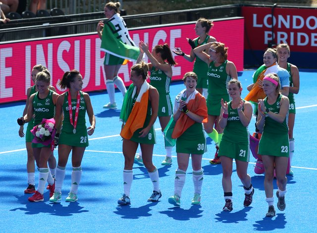 Ireland Hockey won both games against Canada at the Olympic play-offs (PA Images)