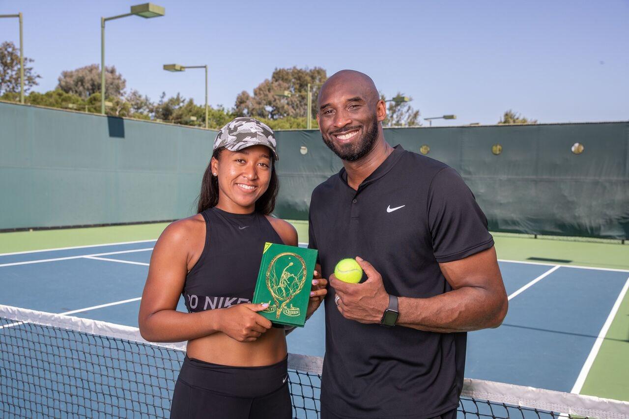 Kobe, tennis star!