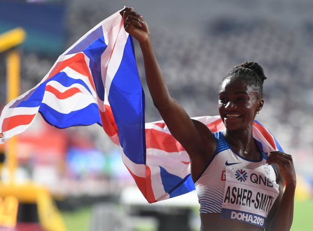 Dina Asher-Smith won bronze in the 4x100m relay at the Rio 2016 Olympics (PA Images)