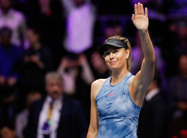 Sharapova says farewell to a fabulous career in tennis (PA Images)