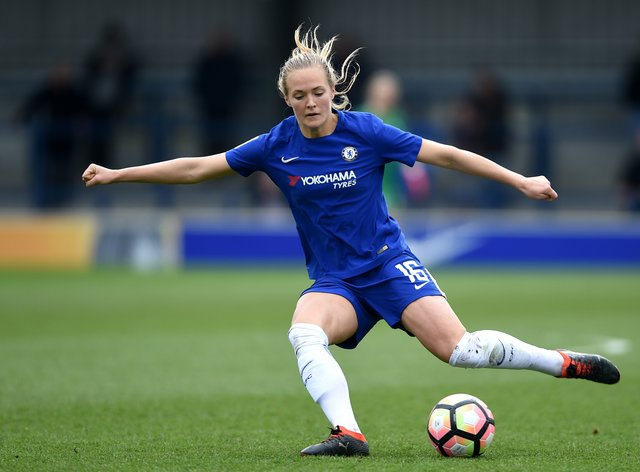 Eriksson is excited to play in her first Conti Cup final (PA Images)