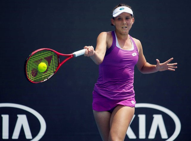 Larsson won two WTA Tour titles in her career (PA Images)