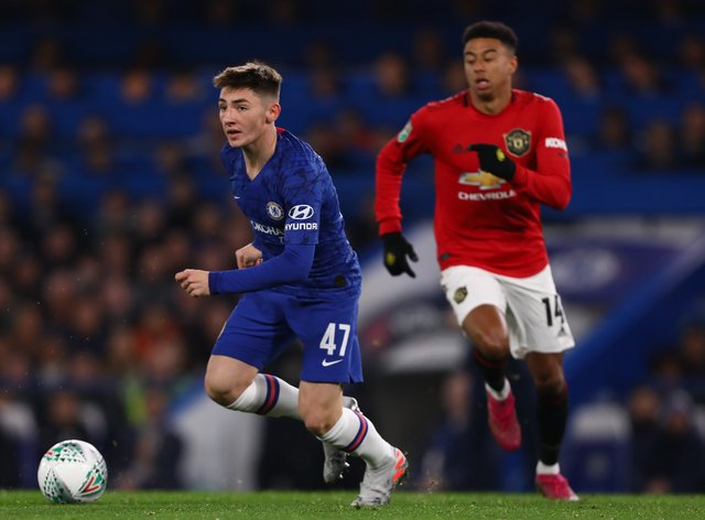 Gilmour has two caps for Chelsea (PA Images)