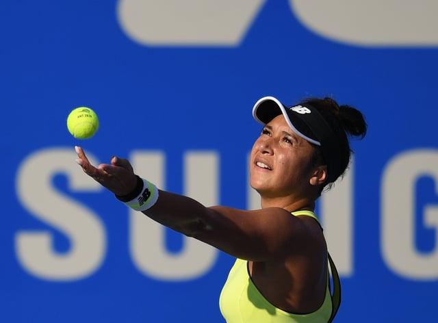 Watson beat Wang Xiyu in the semi-final (PA Images)