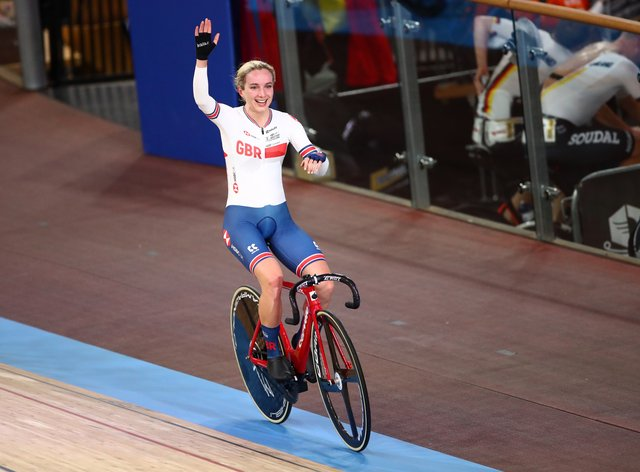 Barker claimed her fourth world title in Berlin (PA Images)