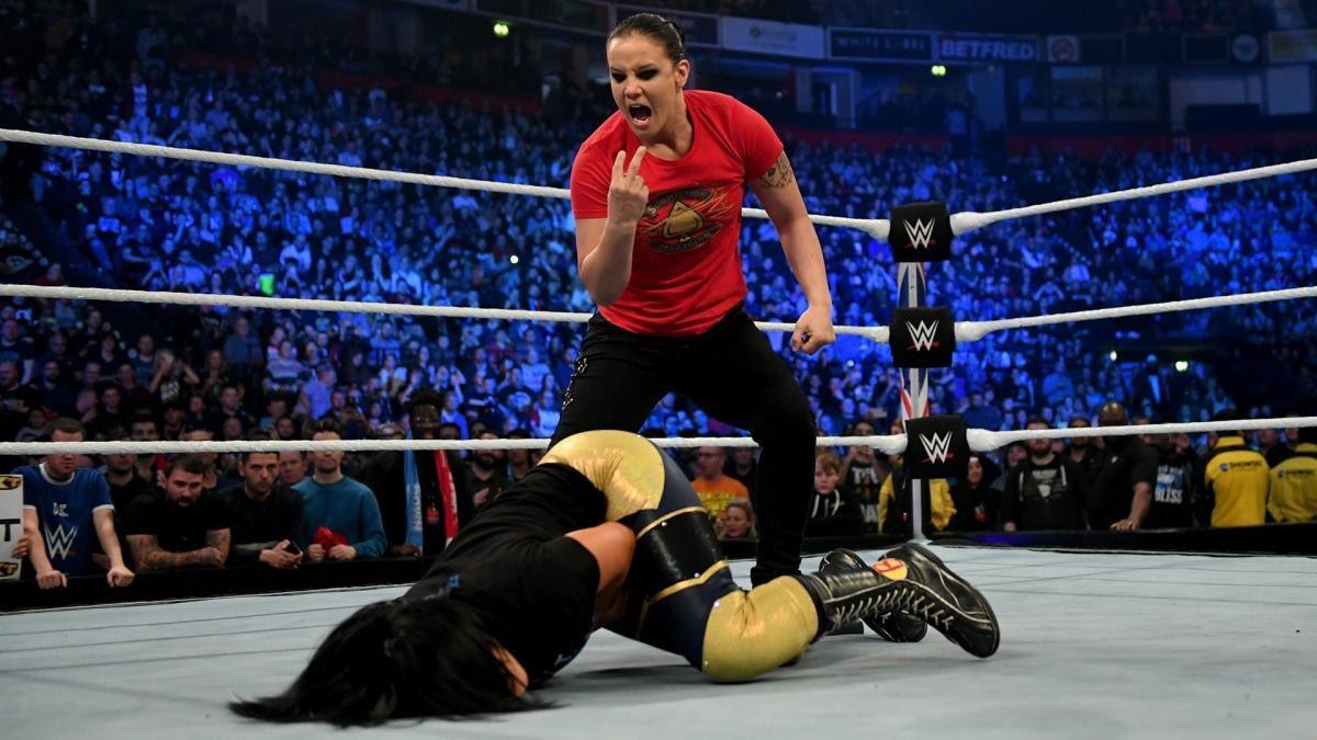 Big clash for Raw