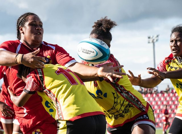 Tonga have progressed to the next stage of qualifying (Oceania Rugby)