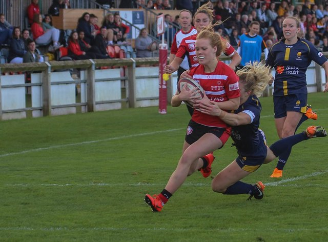 Mia Venner has been added to the England squad (Twitter: Gloucester-Hartpury)