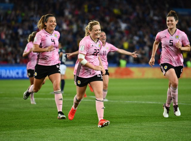 Scotland competed at their first World Cup last year in France (PA Images)