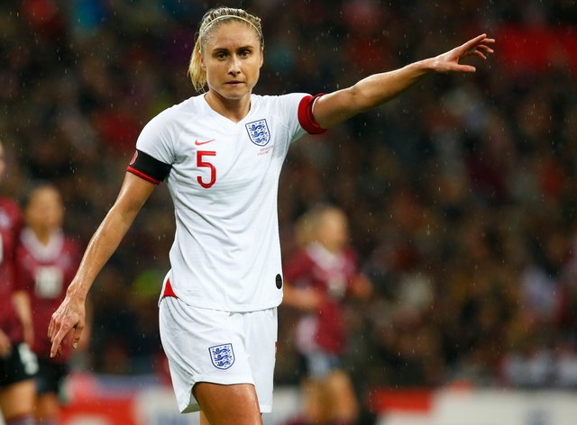 Steph Houghton will lead England as they begin their title defence (PA Images)