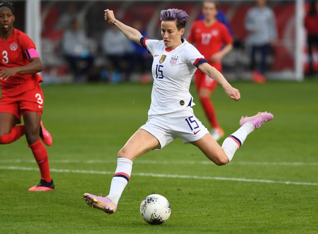 Rapinoe has emphasised the importance of her platform