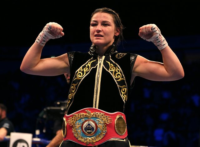 Taylor has become a two-weight world champion in just 15 professional fights (PA Images)