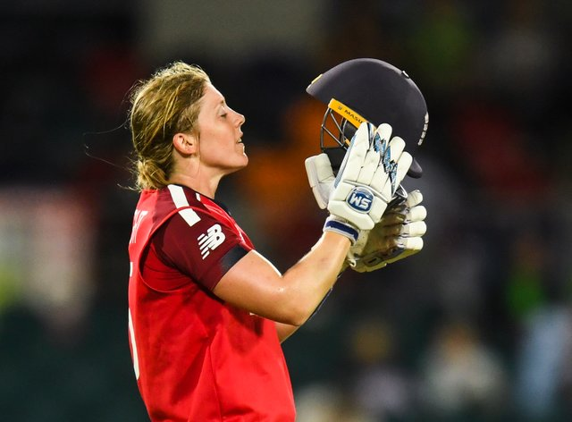 Knight and England were left gutted after their semi-final washout meant they were knocked out of the tournament (PA Images)