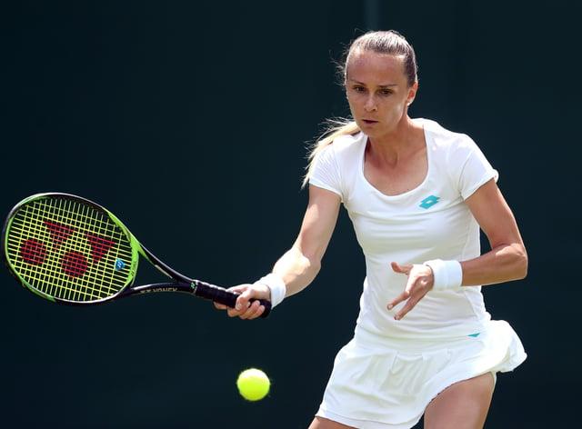 Rybarikova won four WTA titles in her career (PA Images)