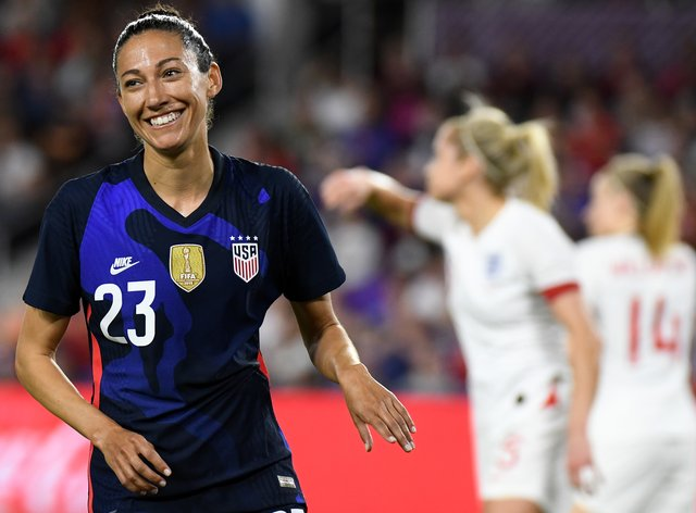 Press has been on form in the SheBelieves Cup (PA Images)