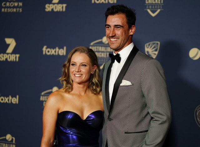 Starc and Healy are the power couple of Australian cricket (PA Images)