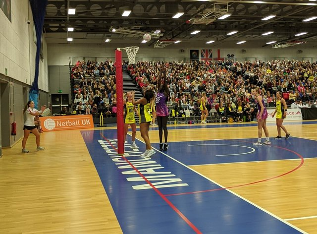 Thunder had a narrow win over Loughborough Lightning (Twitter: Manchester Thunder)