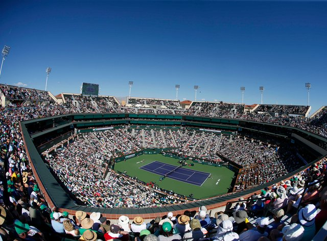 The Indian Wells tournament has been cancelled (PA Images)