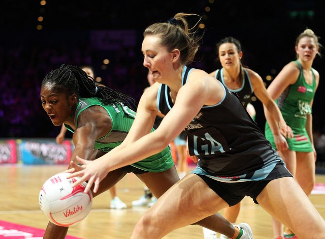 Latanya Wilson (left) has been suspended from Celtic Dragons' next fixture (PA Images)