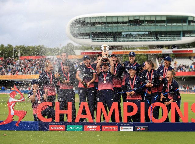 England will defend the trophy they won four years ago when they hosted the tournament (PA Images)