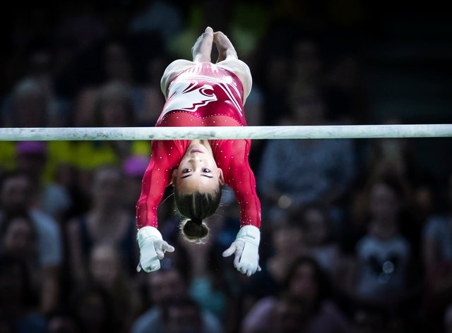 Georgia-Mae won the gold medal at the 2018 Commonwealth Games (PA Images)