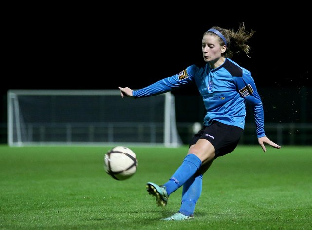 Defender Chloe Mustaki is set to miss the rest of the season (@RyanK_Bailey)