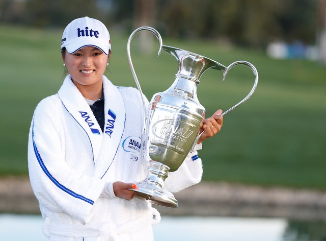 Ko Jin-young won her first major at last year's ANA Inspiration event (PA Images)