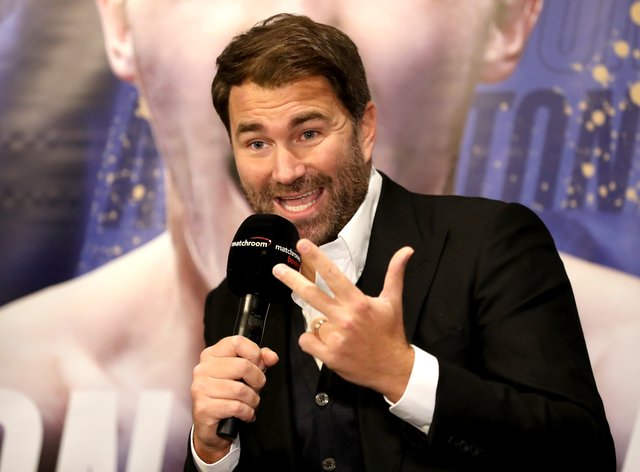 Hearn has a number of UK shows coming up which could be put under threat by the coronavirus pandemic (PA Images)