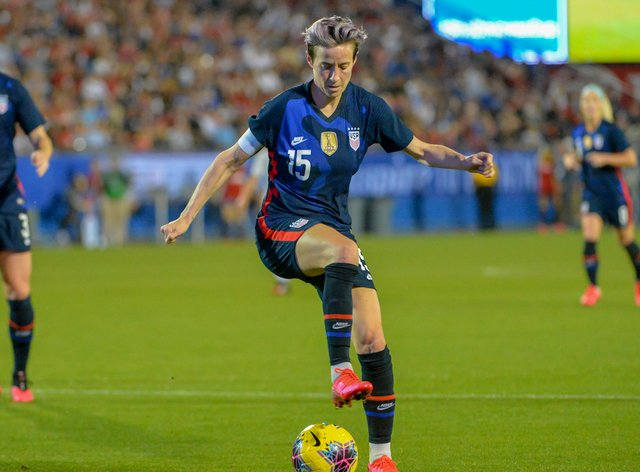 Rapinoe is urging people to stay at home (PA Images)