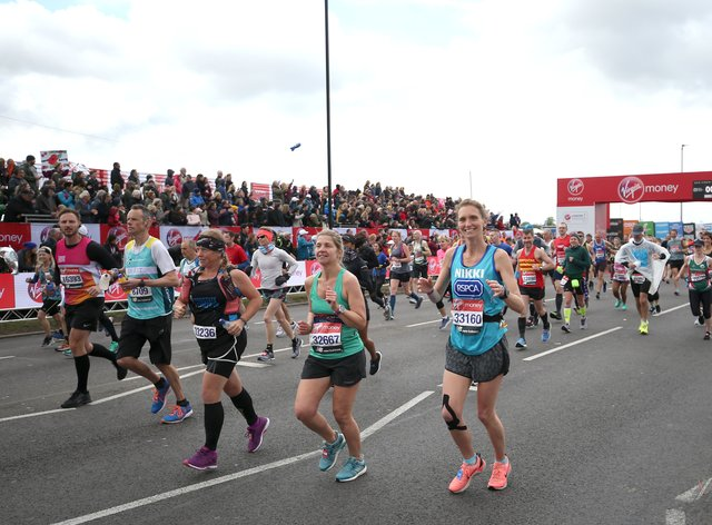 The 2020 London Marathon has been moved back to the autumn (PA Images)
