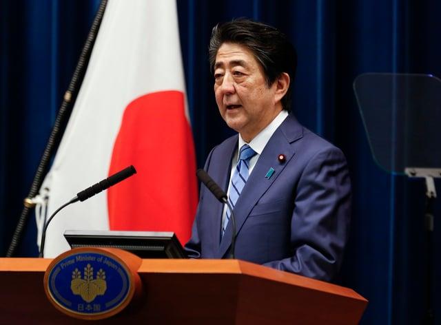 Shinzo Abe says Tokyo 2020 will still go ahead (PA Images)