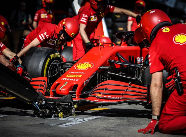 Ferrari have stopped production due to coronavirus (PA Images)