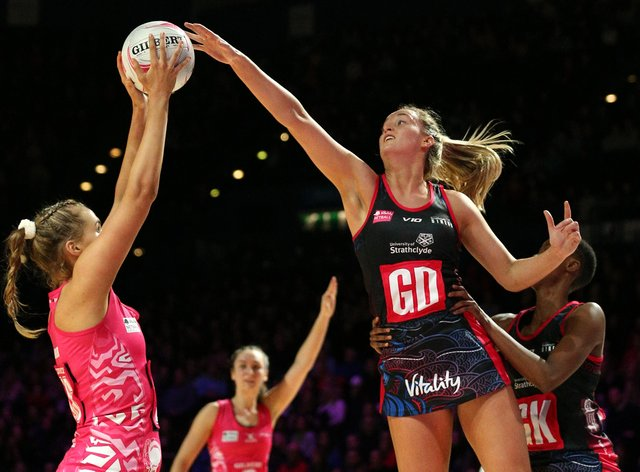 Netball Scotland hope they can survive after Superleague season is postponed (PA Images)