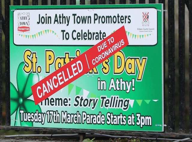 St Patrick's Day celebrations have been cancelled across the globe (PA Images)