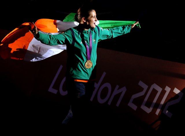 Katie Taylor is one of Ireland's top sports stars (PA Images)