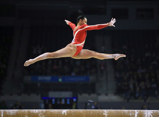 Becky Downie has her say on the cancellation of gymnastic events (PA Images)
