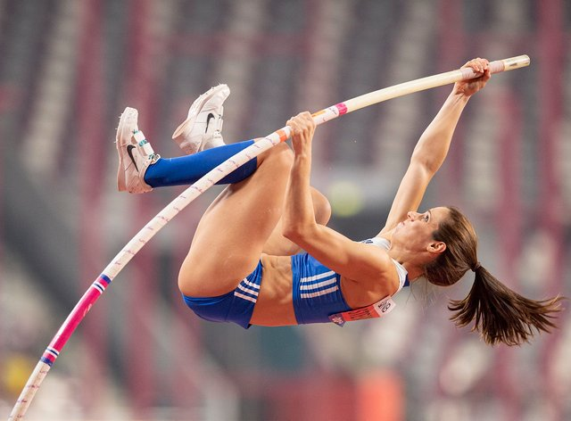 Katerina Stefanidi took gold in the Pole Vault in Rio in 2016 (PA Images)