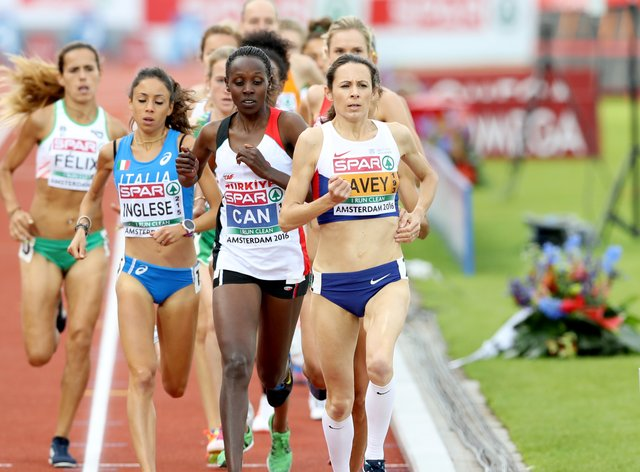 Jo Pavey (right) has shared her concern ahead of the Tokyo Games which are still due to begin on July 24 (PA Images)