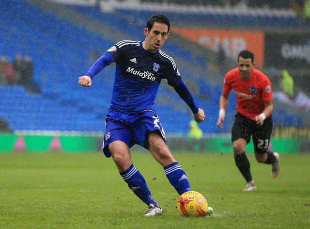 Whittingham spent ten years playing for Cardiff City (PA Images)