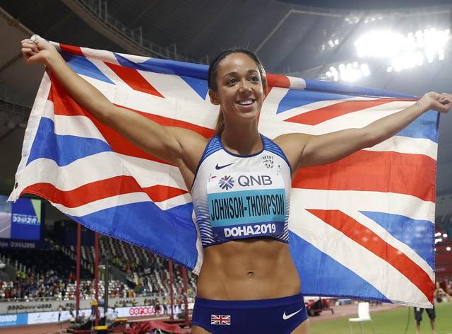 Johnson-Thompson won the heptathlon world title in Doha last year (PA Images)