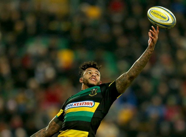 Courtney Lawes plays for Northampton Saints who are losing £400,000 for every home game they miss (PA Images)