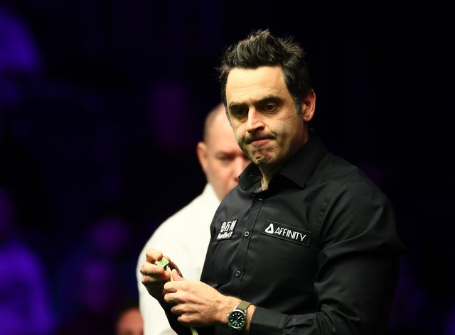 Ronnie O'Sullivan is a five-time winner of the World Snooker Championship (PA Images)