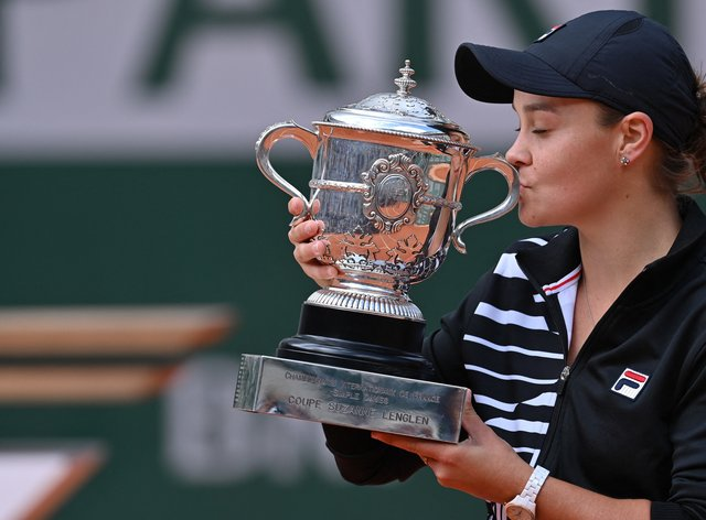 Barty won the tournament in 2019 (PA Images)