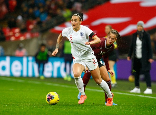 Lucy Bronze is among those who have sent well wishes to fans (PA Images)