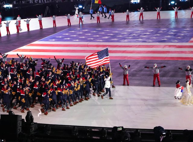 USA finished top of the medal table at the Rio Olympics in 2016 (PA Images)