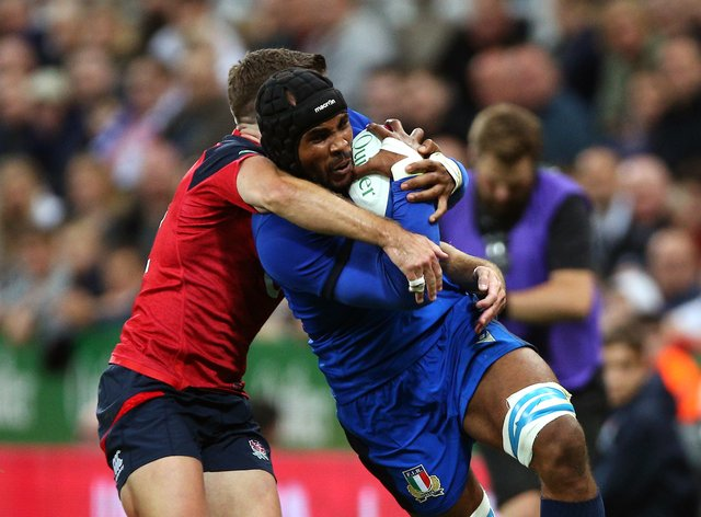 Maxime Mbanda has 18 caps for Italy (PA Images)
