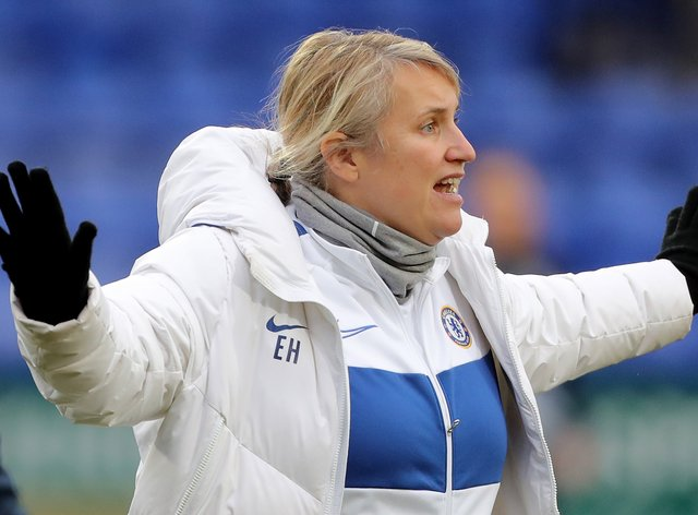 Hayes has been in charge of Chelsea for eight years (PA Images)