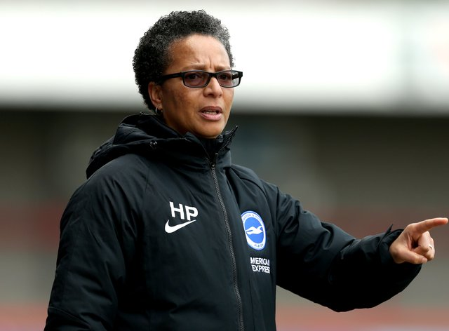 Powell has been in charge of Brighton since the summer of 2017 (PA Images)